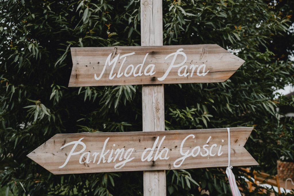 strzałki wesele ślub