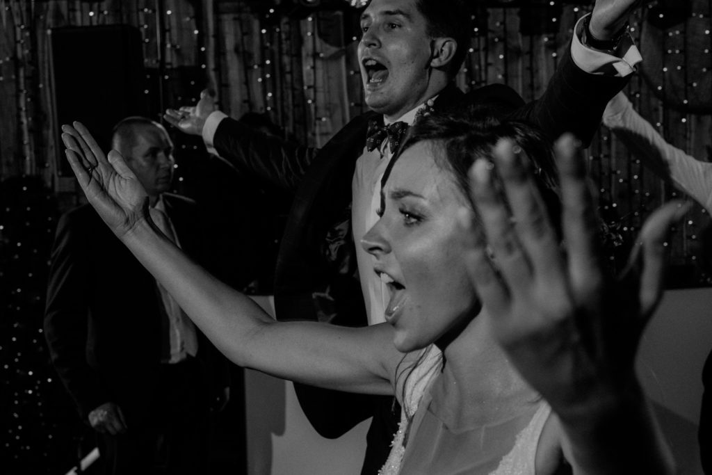 zdjęcia z wesela radość