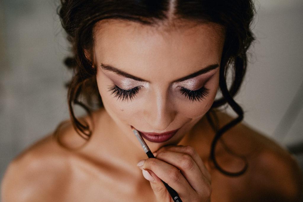 pomadka szminka do ślubu