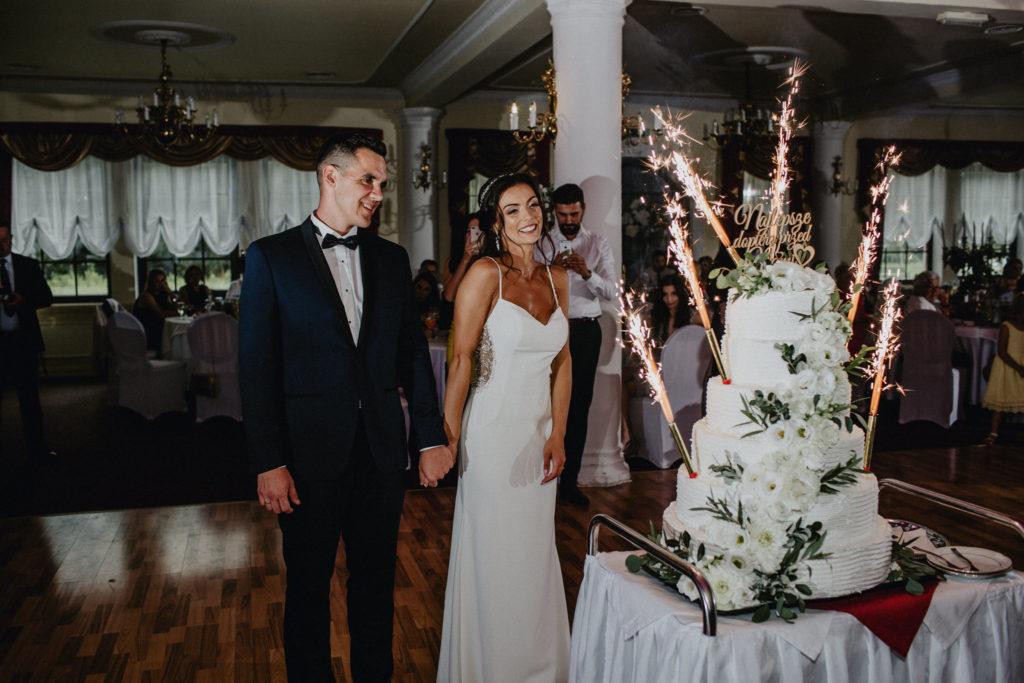 duży tort na 200 osób wesele
